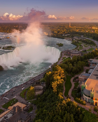 Niagara Falls in Toronto Canada Wallpaper for Nokia Asha 300