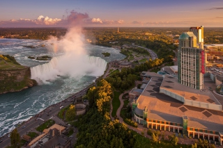 Niagara Falls in Toronto Canada Wallpaper for Android, iPhone and iPad