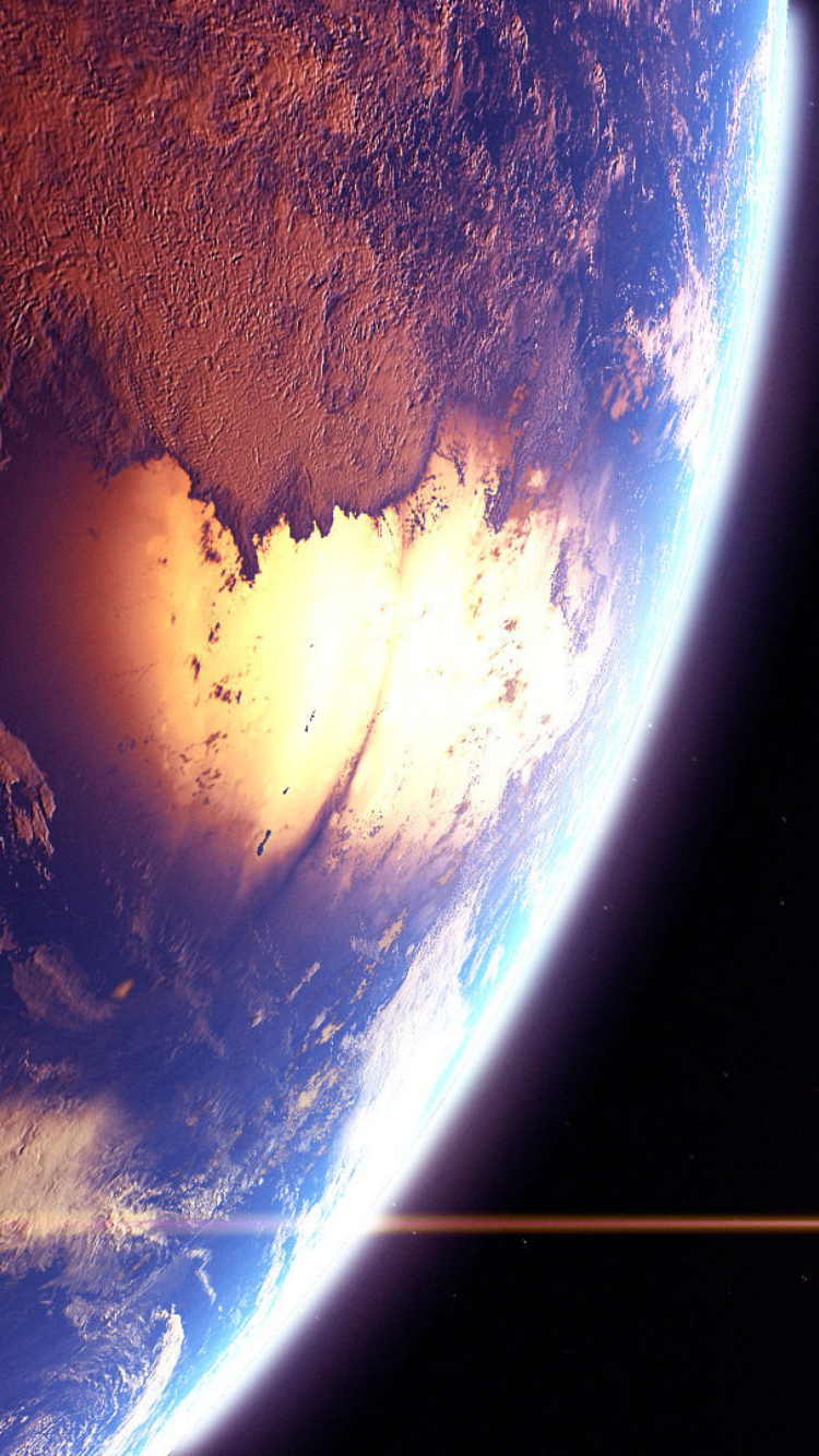 Screenshot №1 pro téma Beautiful Planet 750x1334