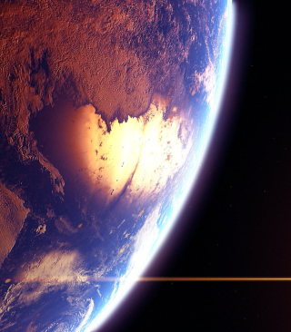 Beautiful Planet Picture for Nokia Asha 306