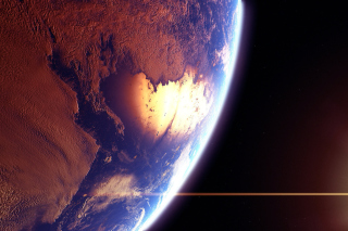Kostenloses Beautiful Planet Wallpaper für HTC Wildfire