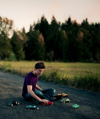 Free Playing Toy Cars Picture for 240x400