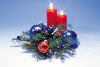 Free New Year Candles Picture for Android, iPhone and iPad