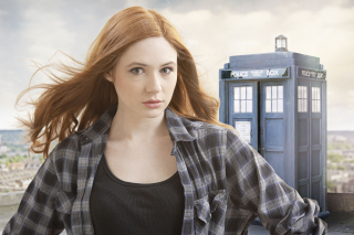 Karen Gillan Doctor Who Star sfondi gratuiti per cellulari Android, iPhone, iPad e desktop