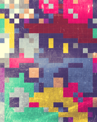 Colorful Mosaic Abstraction sfondi gratuiti per iPhone 6 Plus