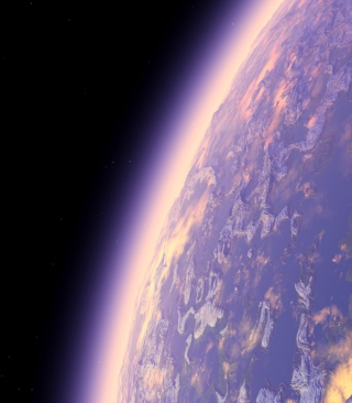 Purple Planet Picture for HTC Titan