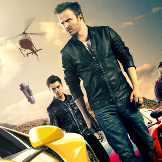 Need for speed Movie 2014 - Aaron Paul - Obrázkek zdarma pro iPad Air