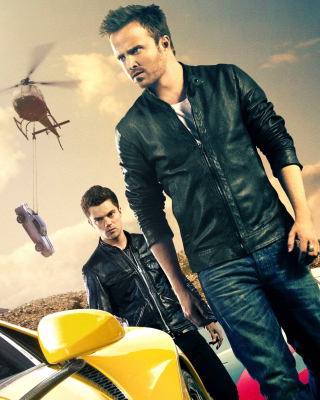 Need for speed Movie 2014 - Aaron Paul - Obrázkek zdarma pro 1080x1920