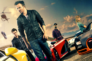 Kostenloses Need for speed Movie 2014 - Aaron Paul Wallpaper für LG P700 Optimus L7