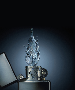 Free Zippo Water Fire Picture for iPhone 6